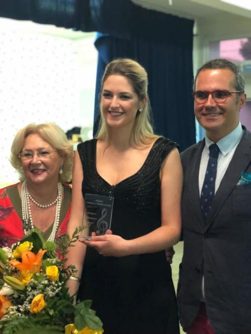 Winner of Gonçalo Santos Prize for Special Talent Cantofest 2019
